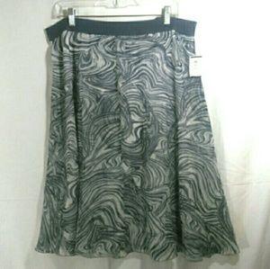NWT, Alfani, Sz. L, gray, skirt